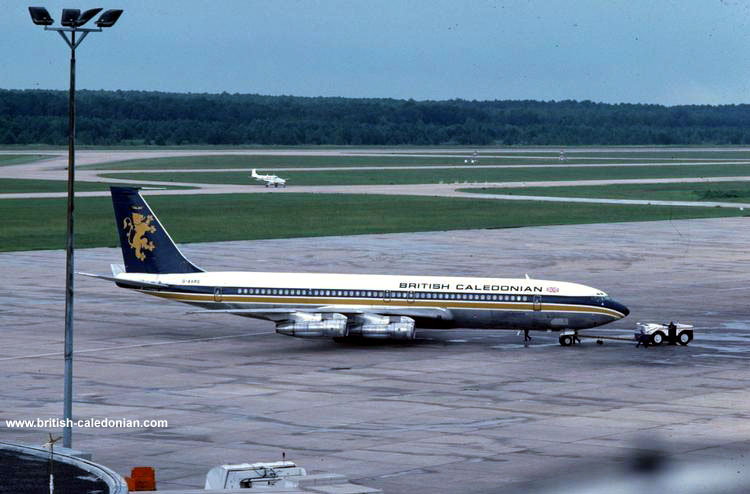 B707 G-AXRS in Houston I think