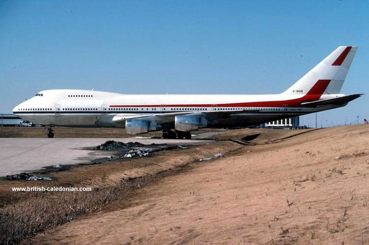 B747 G-NIGB in Canada before delivery