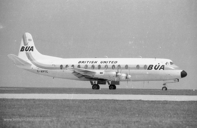 BUA Viscount G-APTC