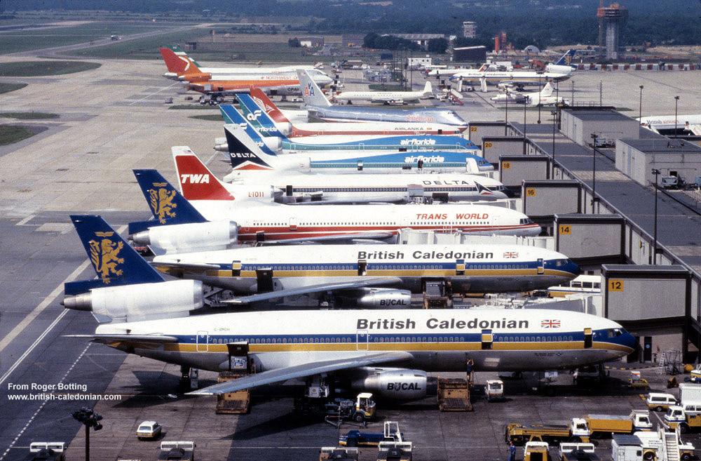 What a super line up at Gatwick !!