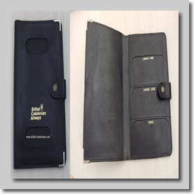 BCal Passport cover