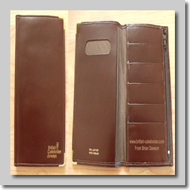 Leather Passport / Travel Docs wallet