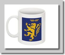 BCal Lion Rampant coffee mug