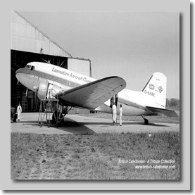 DC3 G-ANAE Lancashire Aircraft Corporation copy