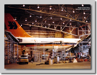Hapag Lloyd A310 in for Engineering Checks
