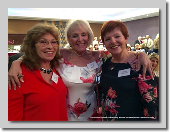 Sue Allen, Julie Mott, Coreen O'Flaherty.