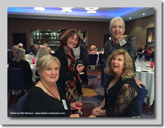 Jan Davison-Tosh, Tricia Riley, Jane Carson and Annette Mercer