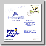 87-03-03 (Signed) Jersey BCal Stamp