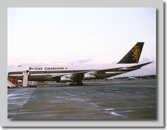 Leased B747 G-BDPZ in December 1978
