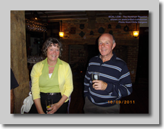 Louise Blewett and Roger Bignall