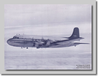 DC-4 G-ANYB before Carvair Conversion