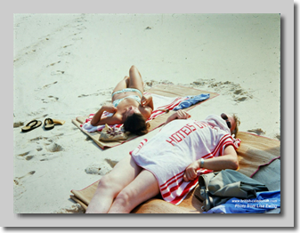 1978 Rio Capt Tony Strickland didn't believe in sunbathing