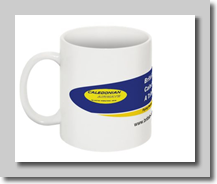 BCal Web site coffee mug
