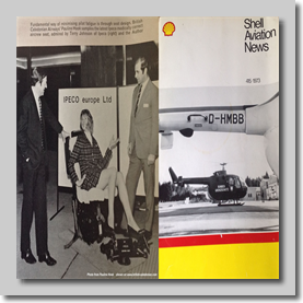 This was published in the Shell Aviation News magazine in 1973. The author was Pete Evans