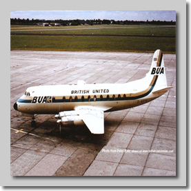 G-APTC BUA Viscount