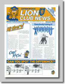 Capt. McCal's Lion Cub News Autumn 1980