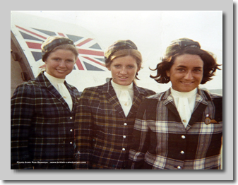 1972 : Jill Scales, Ros Byers and Pat ?