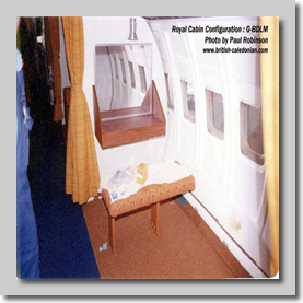 Royal Cabin G-BDLM - View B