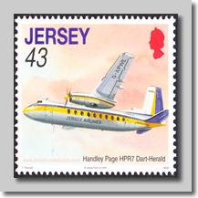 Jersery Airlines Herald