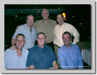 HKG 2006: Phil Bowell, Trevor, Peter Smith, Alan Reeves, Mackenzie Grant, Rohan Alce