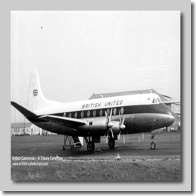 BUA Viscount G-AODG 1962